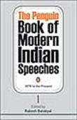 The Penguin Book Of Modern Indian Speeches - 1877 To The Present