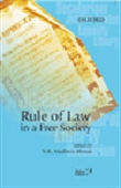 Rule Of Law In A Free Society