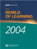 The World Of Learning 2002