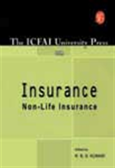 Icfai University Press On Insurance - Non-Life Insurance