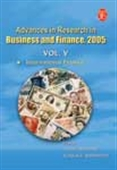 Advances In Research In Business And Finance, 2005 - Vol.V: International Finance