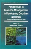 Perspectives In Resource Management In Developing Countries Volume - 3