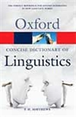 Concise Dictionary Of Linguistics