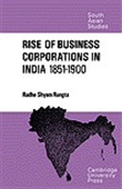 Rise Of Business Corporations In India 1851-1900