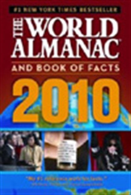The World Almanac And Book Of Facts : 2010