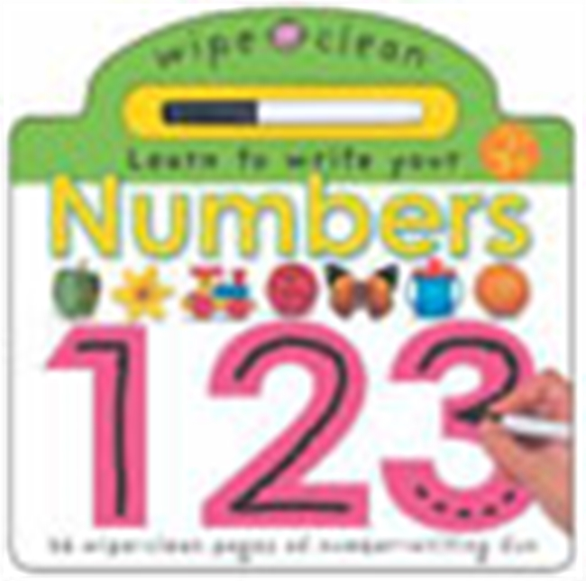Learn To Write Your Numbers 123