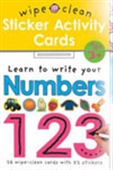 Wipe And Clean Activity Flash Cards: Learn To Write Your Numbers