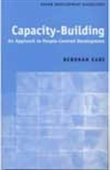 Capacity Building - An Approach To People-Centred Development