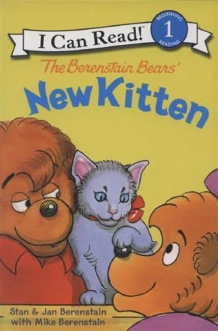 The Berenstain Bears New Kitten (I Can Read Book 1)