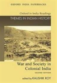 War And Society In Colonial India