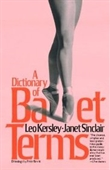 A Dictionary Of Ballet Terms (A Da Capo Paperback)