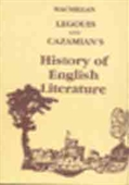 Legouis And Cazamians : History of English Literature