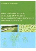 Effect Of Operational Variables On Nitrogen Transformation In Duckweed Stabilization Ponds