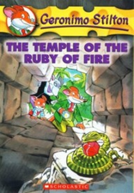 The Temple of The Ruby of Fire # 14
