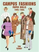 Campus Fashions Paper Dolls: 1900s To 1980s