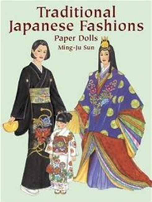 Traditional Japanese Fashions Paper Dolls (Traditional Fashions)