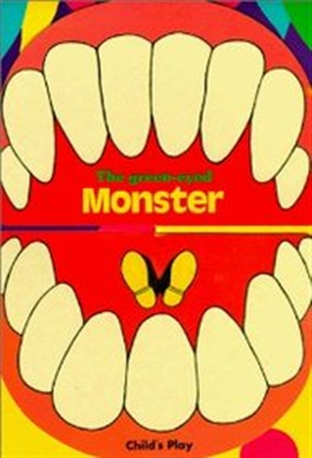 The Green-Eyed Monster (Activity Board Books - Monster Books)