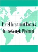 Reference Handbook Of Travel Investment Factors In The Georgia Piedmont