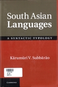 South Asian Languages : A Syntactic Typology