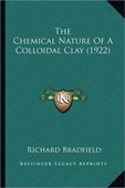 The Chemical Nature Of A Colloidal Clay (1922)