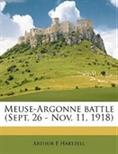 Meuse-Argonne battle (Sept. 26 - Nov. 11, 1918)