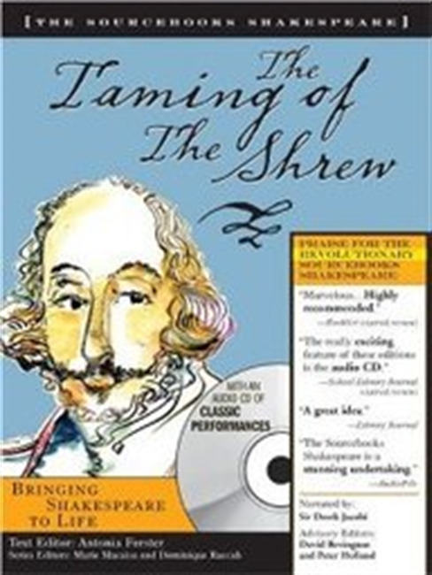 The Taming Of The Shrew With Audio Cd (Sourcebooks Shakespeare)