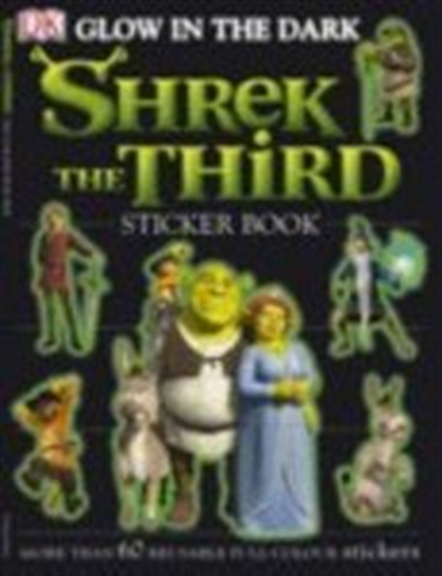 Shrek the Third Glow-in-the-Dark Sticker Book