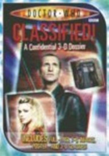 Classified!: A Confidential 3-D Dossier (Doctor Who Files)
