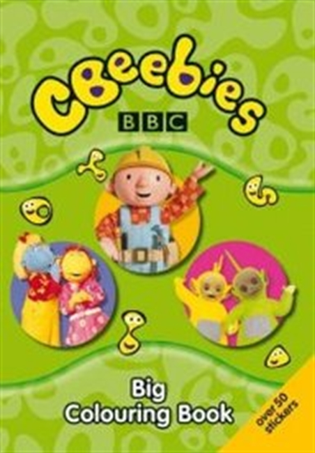 "Big Colouring Book ( "" CBeebies "" )"