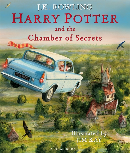 Harry Potter and the Chamber of Secrets Hardcover – Illustrated