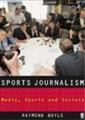 Sports Journalism: Context And Issues