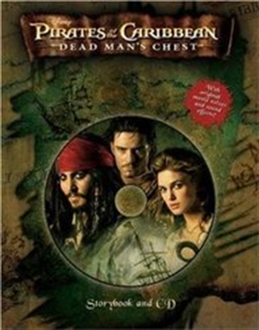 Pirates Of The Caribbean: Dead Mans Chest Storybook And Cd