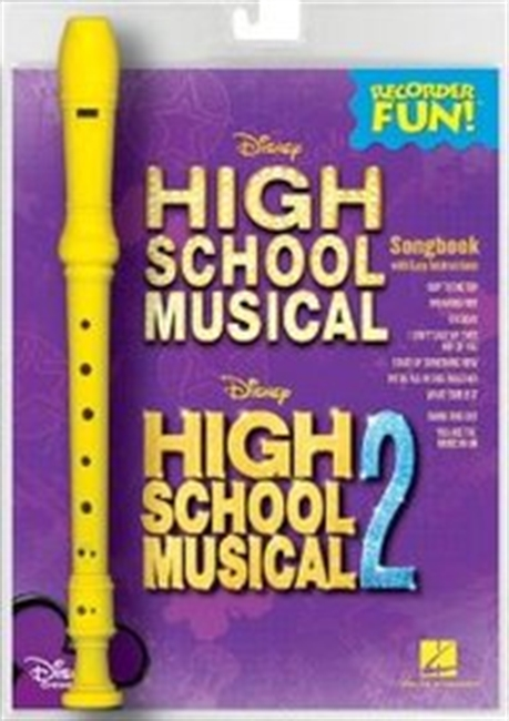 High School Musical 1 And 2: Recorder Fun! Pack