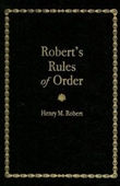 Roberts Rules Of Order (Little Books Of Wisdom)