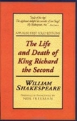 The Life And Death Of King Richard The Second: Applause First Folio Editions