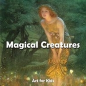 Puzzle books: Magic Creatures (Art for Kids Collection)