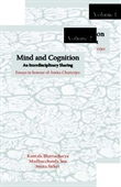 MIND AND COGNITION- AN INTERDISCIPLINARY SHARING ESSAYS IN HONOUR OF AMITA CHATTERJEE IN TWO VOL.
