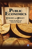 Public Economics : Theory And Policy Essays in Honor of Amaresh Bagchi