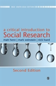 A CRITICAL INTRODUCTION TO SOCIAL RESEARCH, 2E