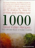 1000 GREAT INDIAN RECIPES (THE ULTIMATE BOOK OF INDIAN CUISINE)
