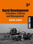 RURAL DEVELOPMENT, 3E: Principles, Policies and Management