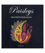 Paisleys : Patterns & Motifs For Embroidery And Prints
